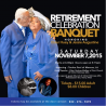 Retirement Celebration Banquet